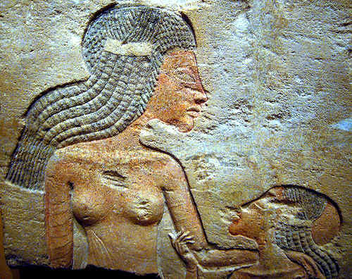 Two Princesses (Akhenaten's daughters) by ggnyc.